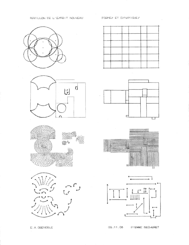 Pavillon de l'esprit nouveau : formes et dynamiques