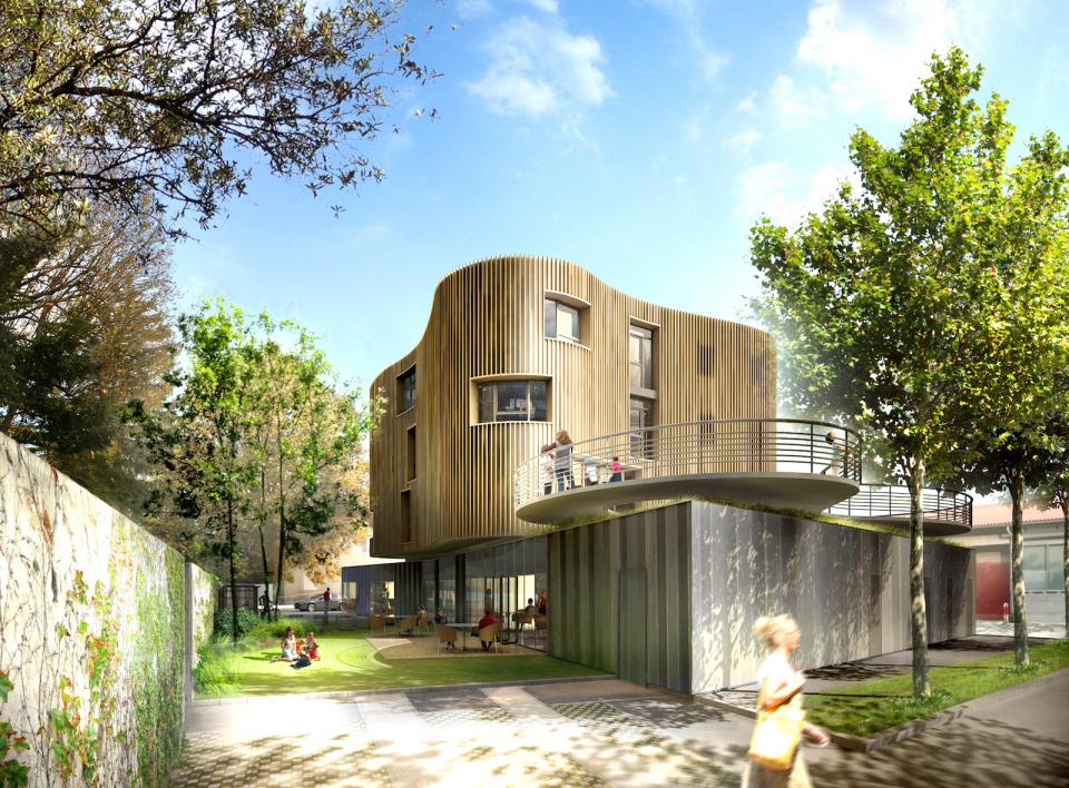 Maison des parents de la fondation MacDonnald's _ La Tronche